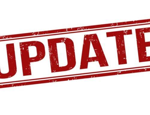 Updates & News!